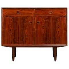Danish Midcentury Small Sideboard by Brouer for the Brouer Møbelfabrik, 1960s