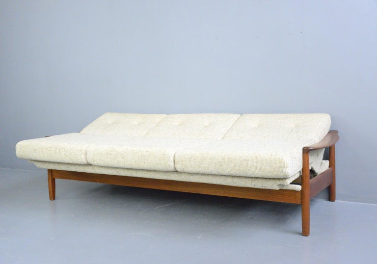 Danish Midcentury Sofa, circa 1960s For Sale 4