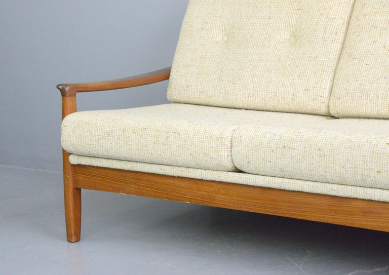 Danish Midcentury Sofa, circa 1960s In Good Condition For Sale In Gloucester, GB