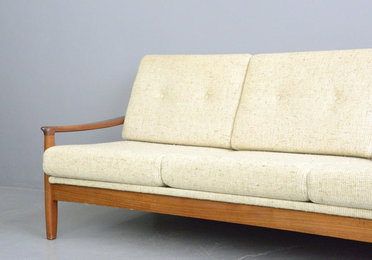 Danish Midcentury Sofa, circa 1960s For Sale 3