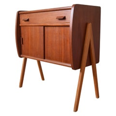 Danish Midcentury Teak Cabinet by Poul Volther
