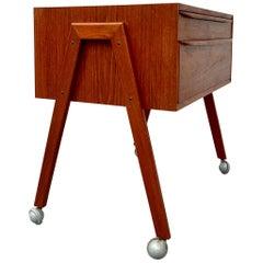 Danish Midcentury Teak Chest of Drawers or Cabinet