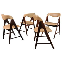 Danish Midcentury Teak Dining Chairs