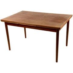 Danish Midcentury Teak Dining Table