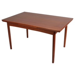 Danish Midcentury Teak Dining Table
