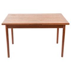 Danish Midcentury Teak Extending Dining Table