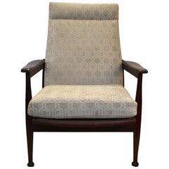 Danish Midcentury Teak Foldable Armchair, 1950