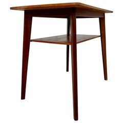 Danish Midcentury Teak Side Table, 1950s