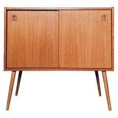 Danish Midcentury Teak Sideboard, 1960s in the Style of Wegner