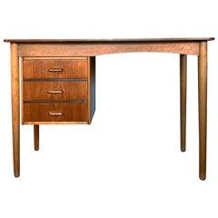 Danish Midcentury Writing Table 1950s by Ølholm Møbelfabrik