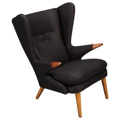 Danish Model 91 Wingback Armchair by Svend Skipper for Skipper Møbler, 1950