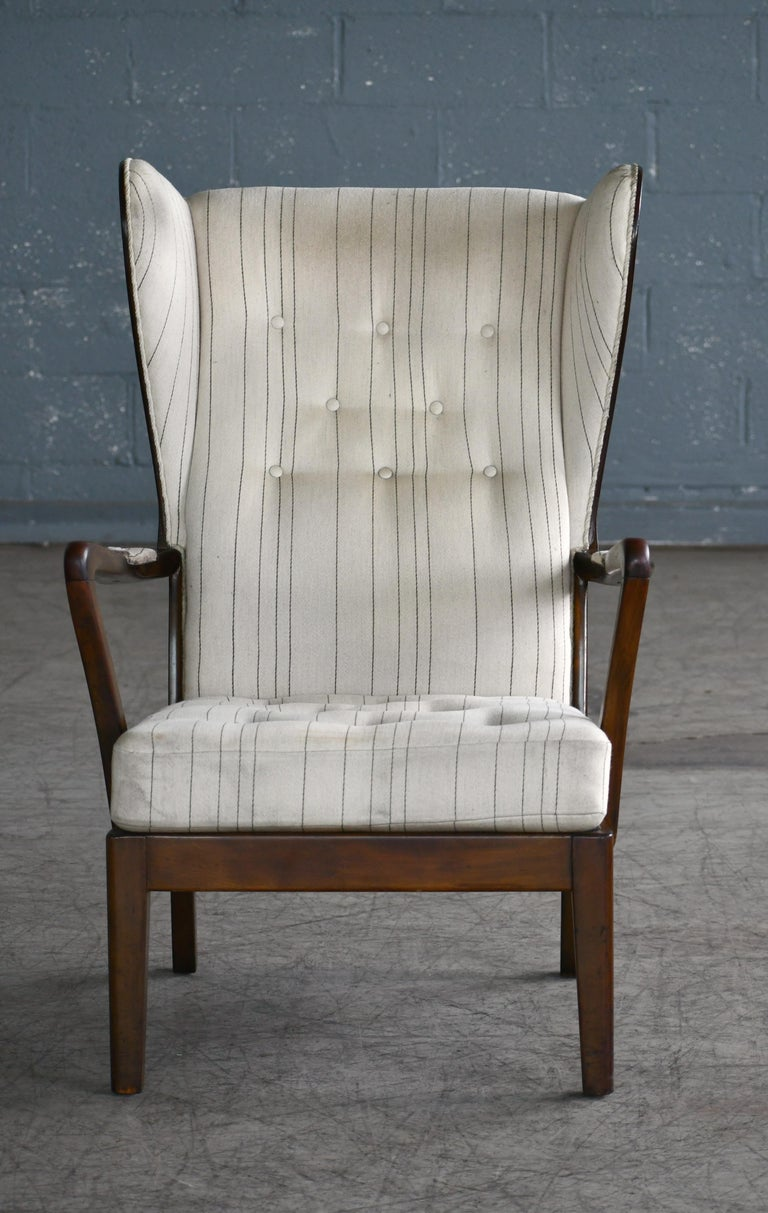 This great elegant chair is in Denmark known as the