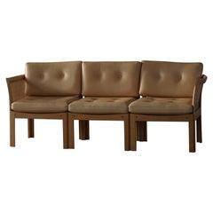 Danish Modern 3-Seater Sofa by Illum Wikkelsø for CFC Silkeborg, 1960s