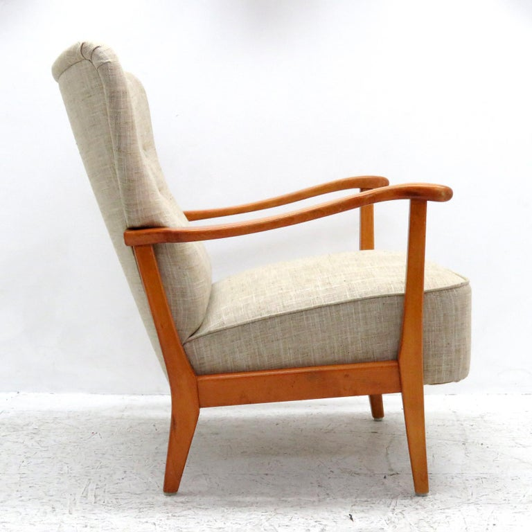 Danish Modern Armchair by DUX, 1940 In Excellent Condition For Sale In Los Angeles, CA