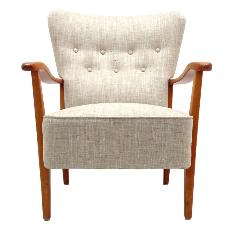 Danish Modern Armchair by DUX, 1940 For Sale