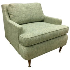Danish Modern Armchair or Lounge Chair, New Upholstery