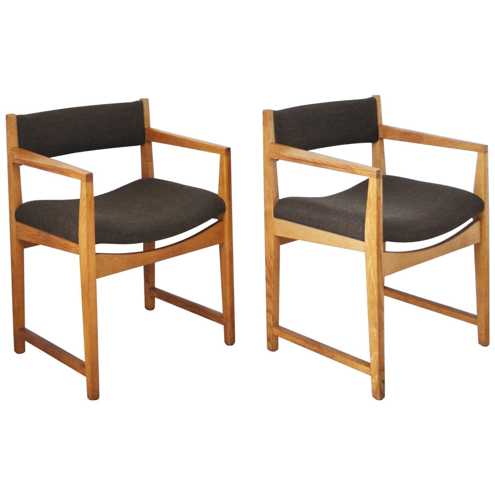 Danish Modern Armchairs by Peter Hvidt & Orla Mølgaard-Nielsen, 1950s-1960s