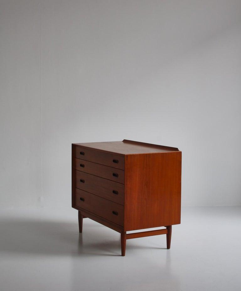 Danish Modern Arne Vodder Sideboard Dresser in Teakwood, Sibast, Denmark, 1960s 6