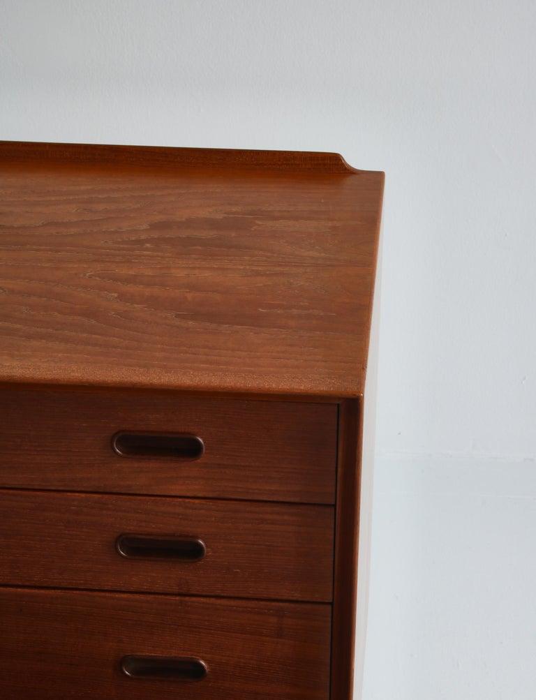 Danish Modern Arne Vodder Sideboard Dresser in Teakwood, Sibast, Denmark, 1960s 2