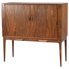 Danish Modern Bar Cabinet by C.F. Christensen Design