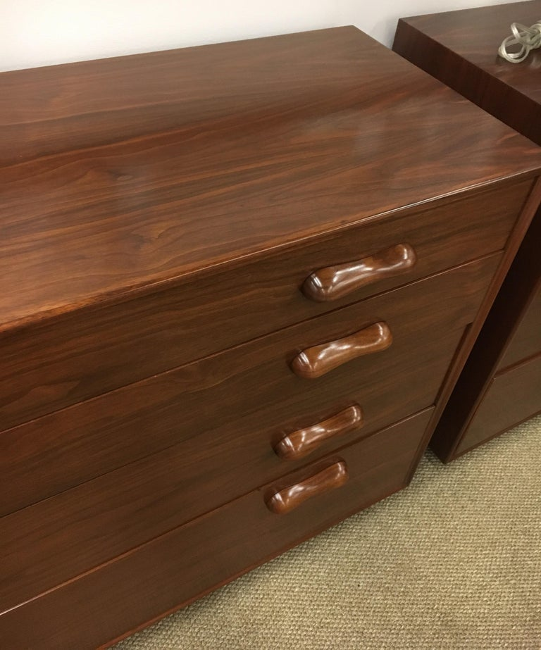 Late 20th Century Danish Modern Bedroom Dresser Chest of Drawers For Sale