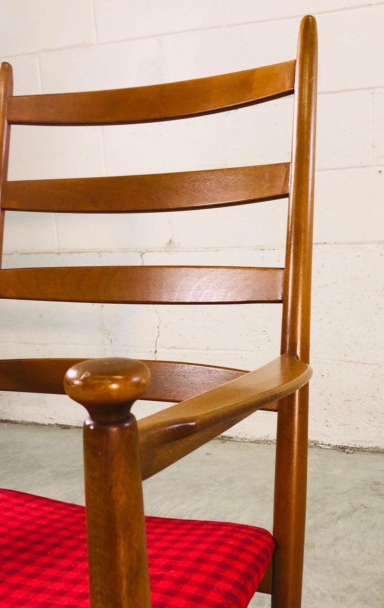 Danish Modern Beechwood Rocking Chair by Niels Eilersen For Sale 1