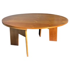 "Danish Modern Birch ""Metamorphic"" Dining Table/Console"