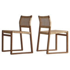 "Danish Modern Børge Mogensen Pair of""BM61"" Chairs by P. Lauritsen & Søn, 1950s"