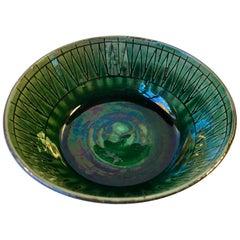 Danish Modern Ceramic Dish by Thomas Toft, 1960s