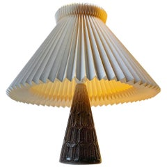 Danish Modern Ceramic Table Lamp from Michael Andersen, 1970s