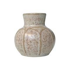 Danish Modern Ceramic Vase by Eva Sjögren for L. Hjorth, 1950s