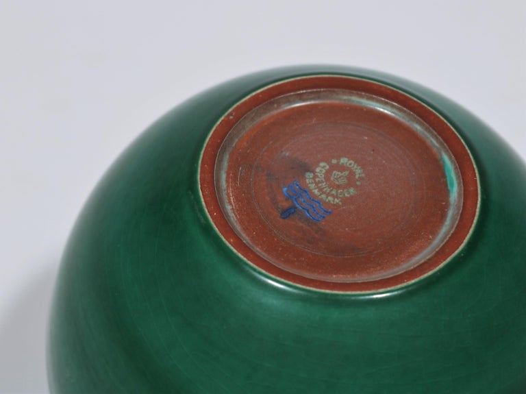 Mid-20th Century Danish Modern Ceramics Earthenware Vase by Nils Thorsson for Royal Copenhagen