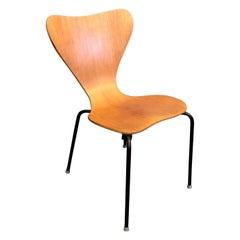 Danish Modern Chair in Teak by Herbert Hirche for Jofa Stalmobler