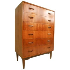 Danish Modern Chest of Drawers by Ejvind A. Johansson for Gern Møbelfabrik