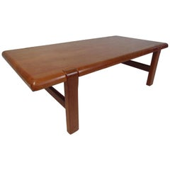 Danish Modern Coffee Table by Neils Bach
