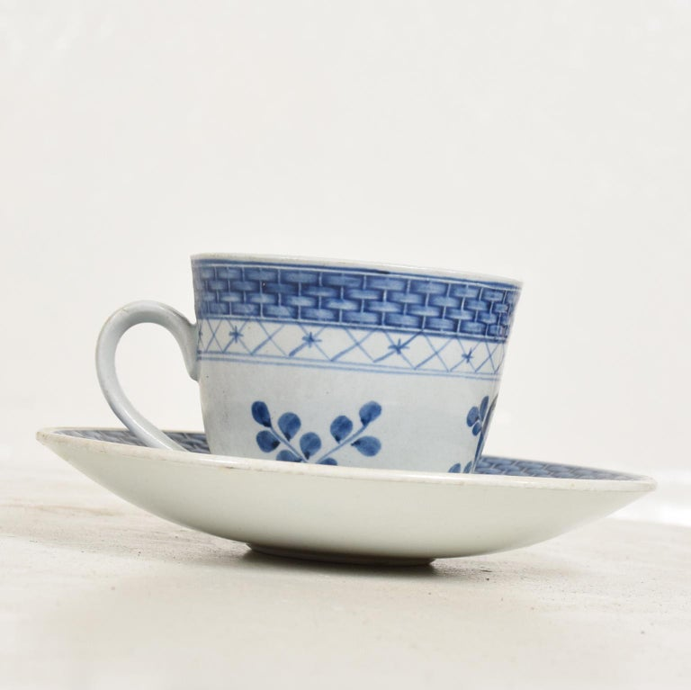 Danish Modern Coffee Tea Cup and Plate Set for 12 Person Royal of Copenhagen Era For Sale 1