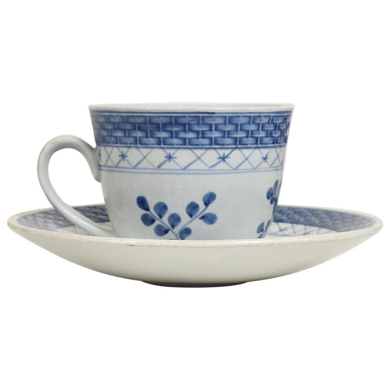 Danish Modern Coffee Tea Cup and Plate Set for 12 Person Royal of Copenhagen Era For Sale