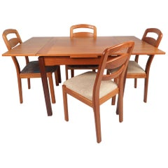 Danish Modern Compact Dining Set by Koefoed's Møbelfabrik