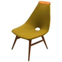 Danish Modern Corner Chair Designed by Judit Burian
