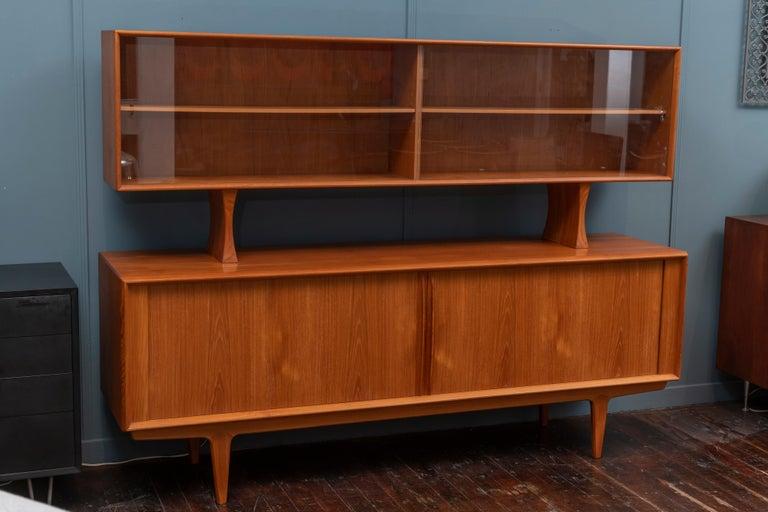 Danish Modern Credenza by Bernhard Pedersen & Son In Good Condition For Sale In San Francisco, CA
