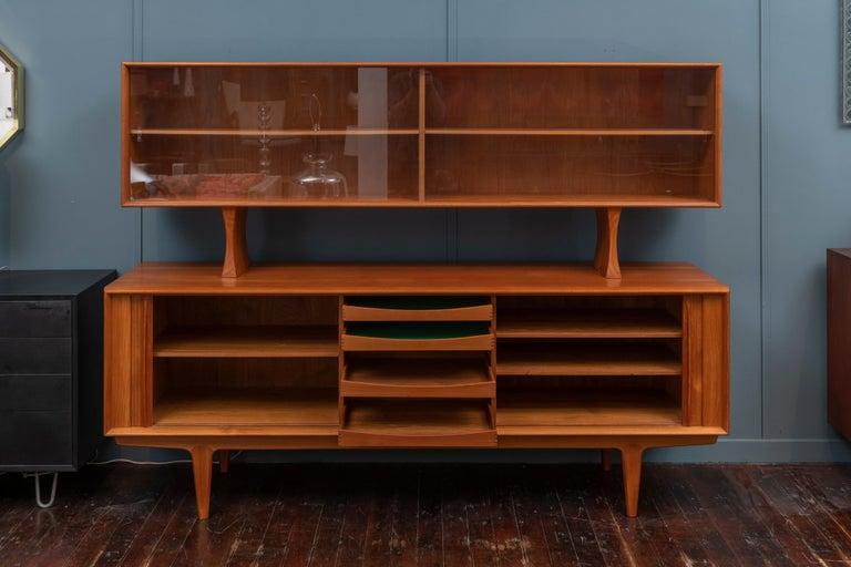 Danish Modern Credenza by Bernhard Pedersen & Son For Sale 1