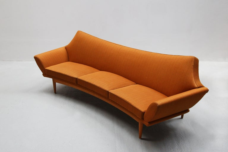 Danish Modern Design Sofa by Johannes Andersen for Trensum, 1960s For Sale 5