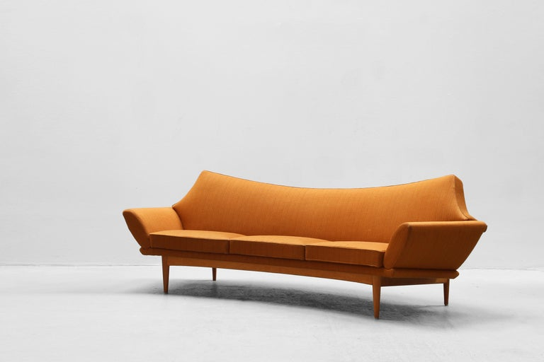Danish Modern Design Sofa by Johannes Andersen for Trensum, 1960s In Good Condition For Sale In Berlin, DE