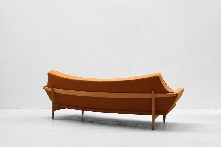 20th Century Danish Modern Design Sofa by Johannes Andersen for Trensum, 1960s For Sale