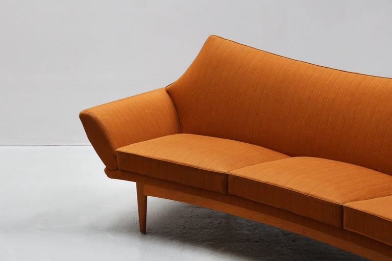 Danish Modern Design Sofa by Johannes Andersen for Trensum, 1960s For Sale 1