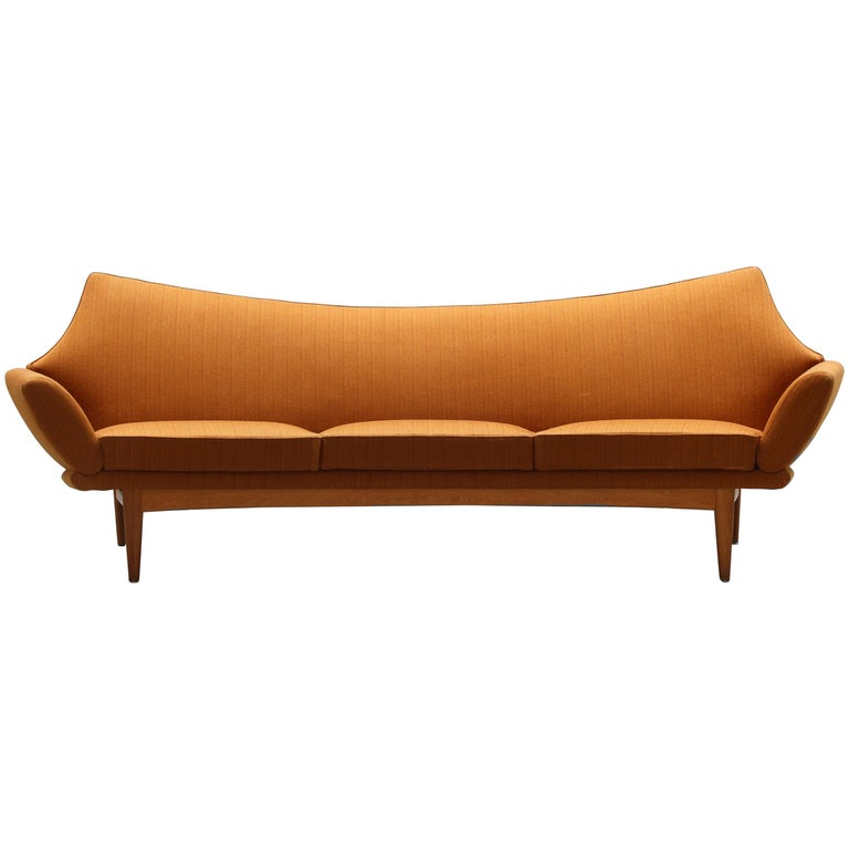 Danish Modern Design Sofa by Johannes Andersen for Trensum, 1960s For Sale
