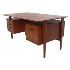 Danish Modern Desk by Peter Hvidt and Orla Mølgaard Nielsen