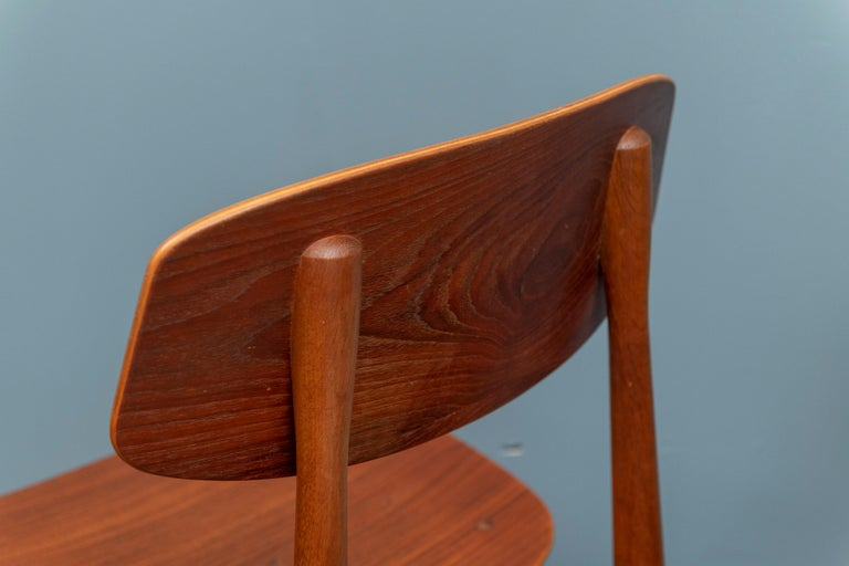 Danish Modern Dining Chairs For Sale 4