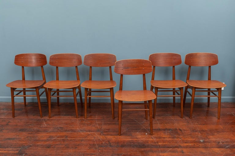 Danish Modern Dining Chairs In Good Condition For Sale In San Francisco, CA