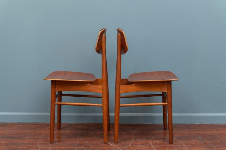Mid-20th Century Danish Modern Dining Chairs For Sale